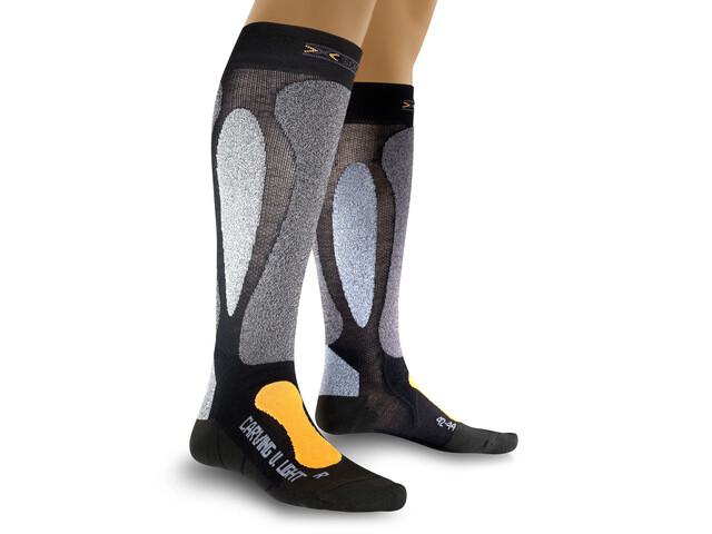 X-Socks Ski Carving Ultra Light Sokken grijs/zwart